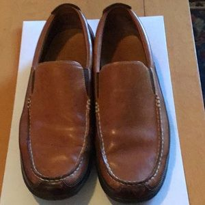 Cole Haan Brown Two-Tone Loafers, Size 10.5.